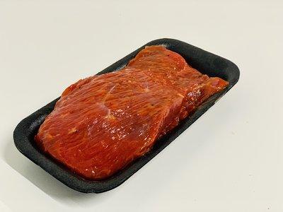 Gekruid bieflapje (BBQ)