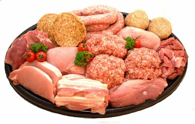 Pakket vlees voor 1 persoon
