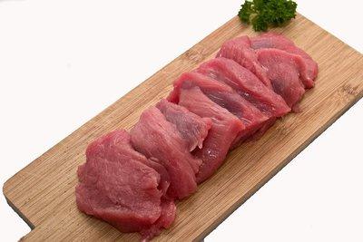 Licht gekruid biefstuk (BBQ)